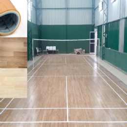 Indoor pvc sport flooring